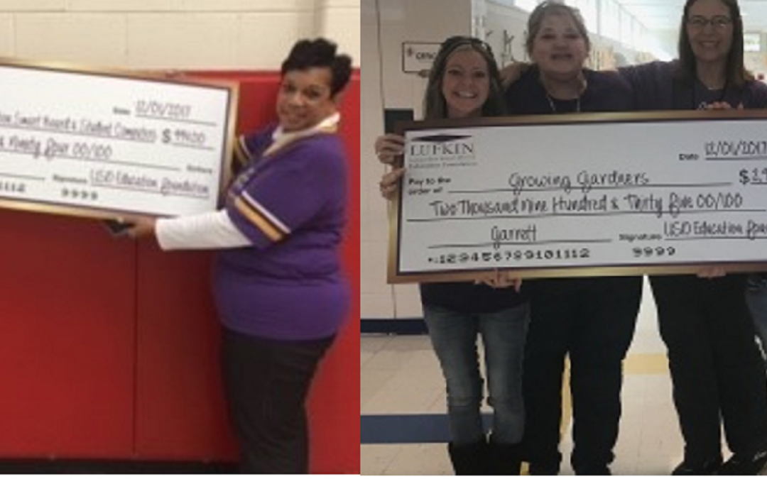 Garrett Awarded Not One, But TWO Educational Foundation Grants!