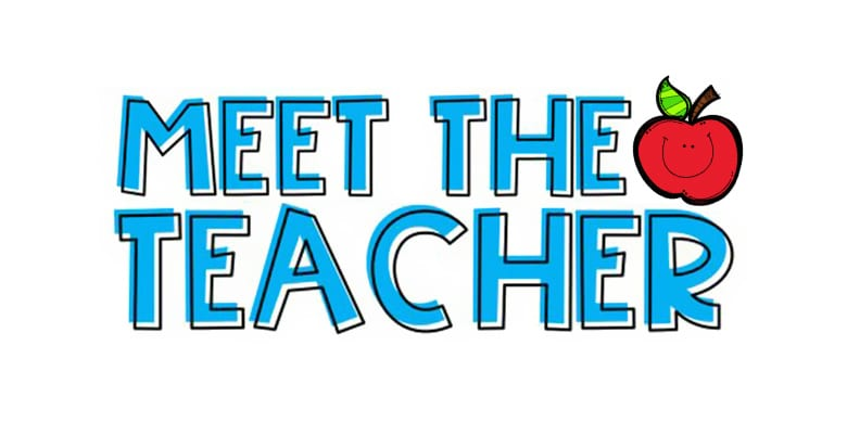 Meet the Teacher: August 13, 2018  1:00 p.m to 5:00 p.m.