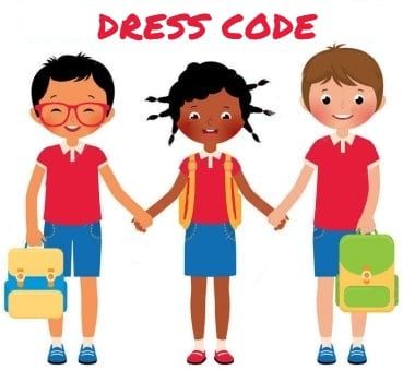Garrett Primary Dress Code