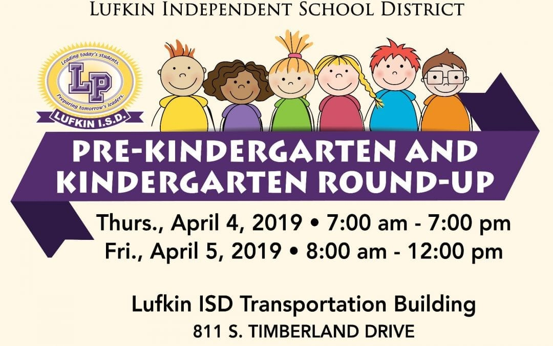 April 4th and 5th: Prekindergarten & Kindergarten Round Up