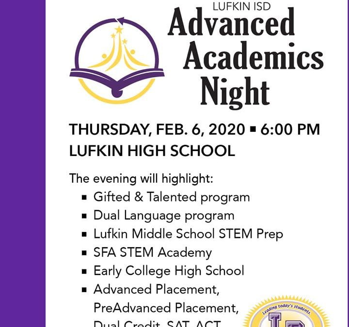 Advanced Academics Night