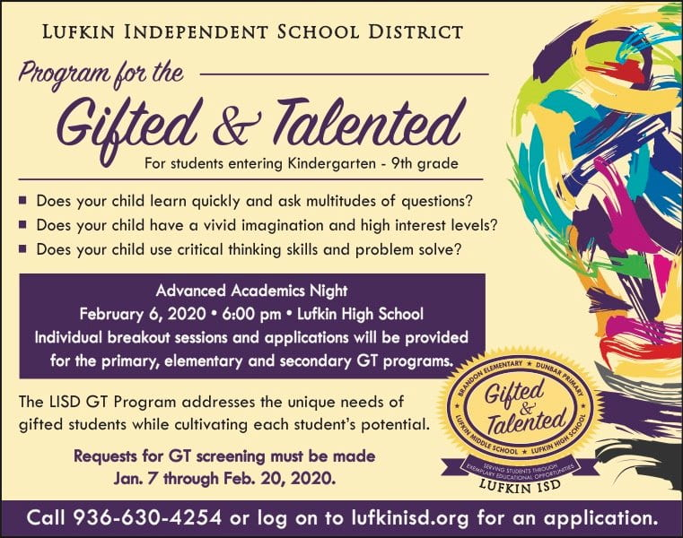 Gifted and Talented Testing