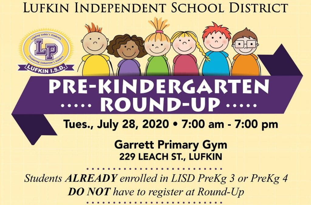 SAVE THE DATE: Pre-K Roundup scheduled for July 28