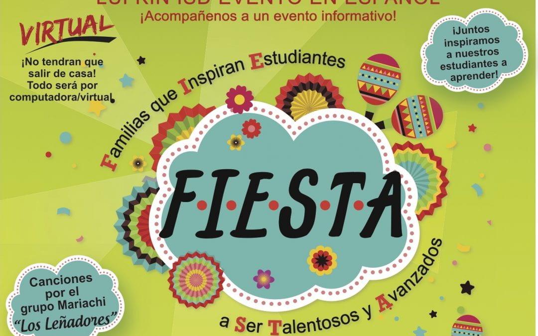 Evento en Español es Noviembre 6 – 13