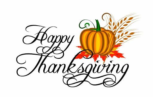Thanksgiving Break – November 23-27