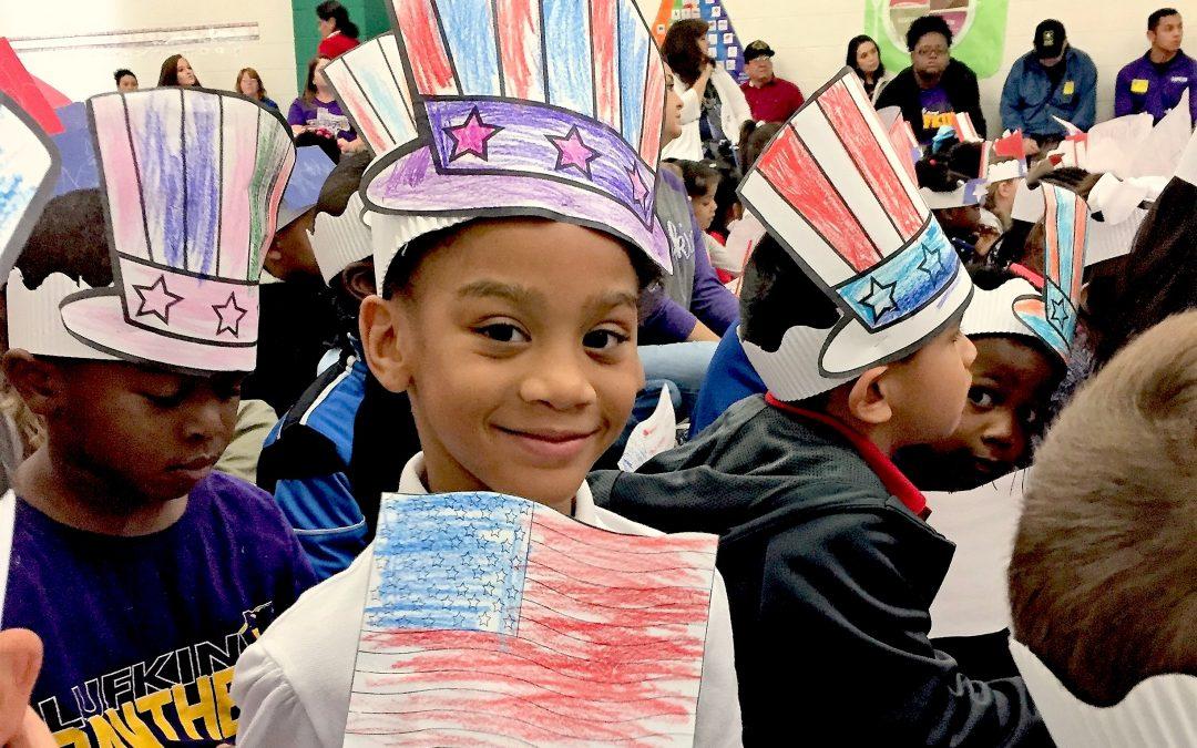 Thanking our Veterans: Kurth Primary Veterans Day Program