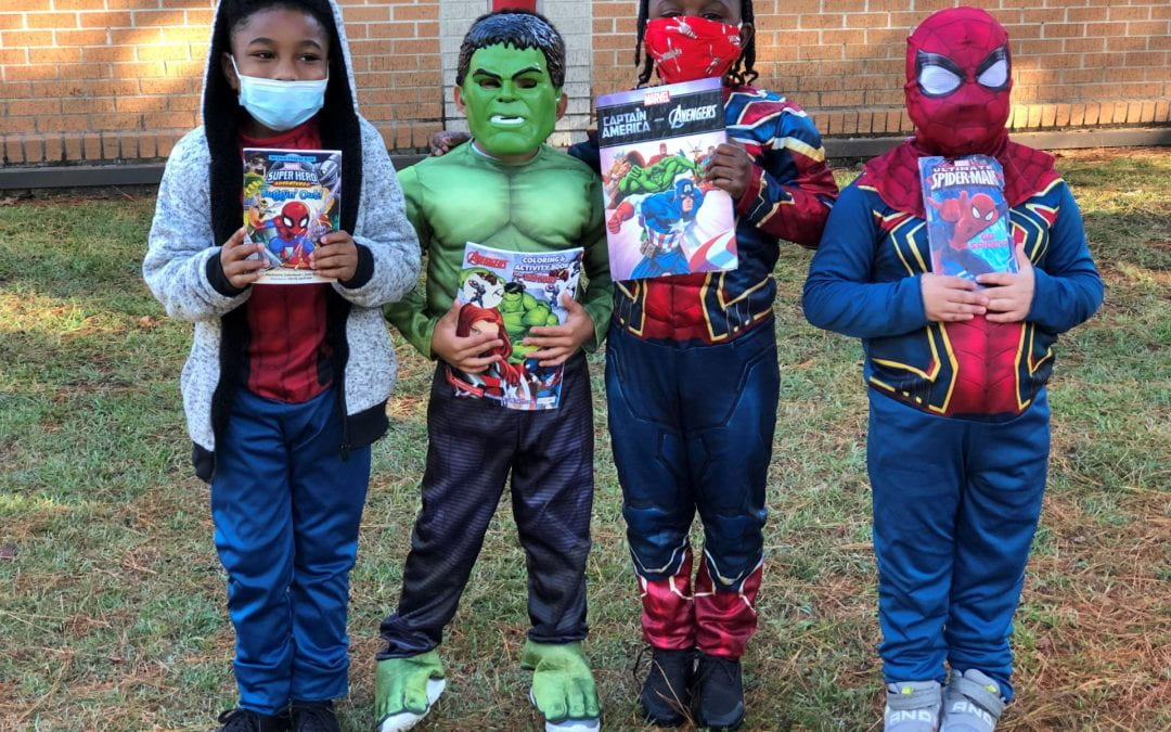 Book Character Parade–Students and staff dress up as their favorite book character!