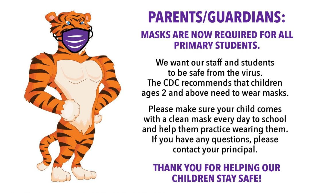 Be safe and wear a mask!