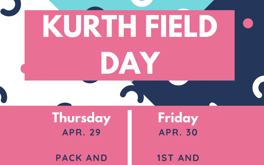 It's Field Day time at Kurth! 🐯🥇🏆👟