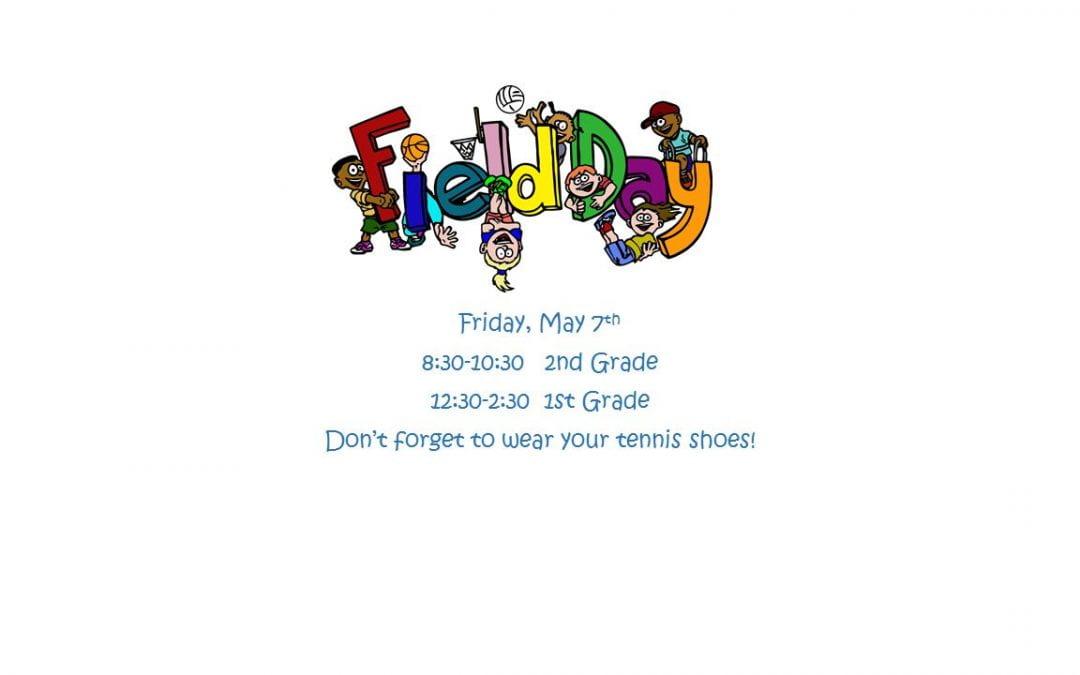 1st/2nd Grade Field Day Re-do!