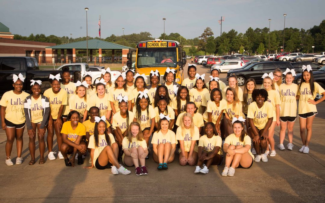 Cheerleaders head to cheer camp
