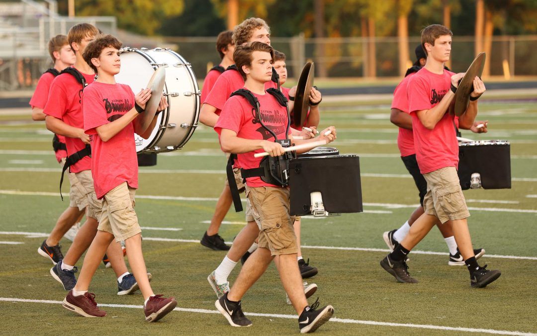 Panther Band sections show off at annual Snap Competition