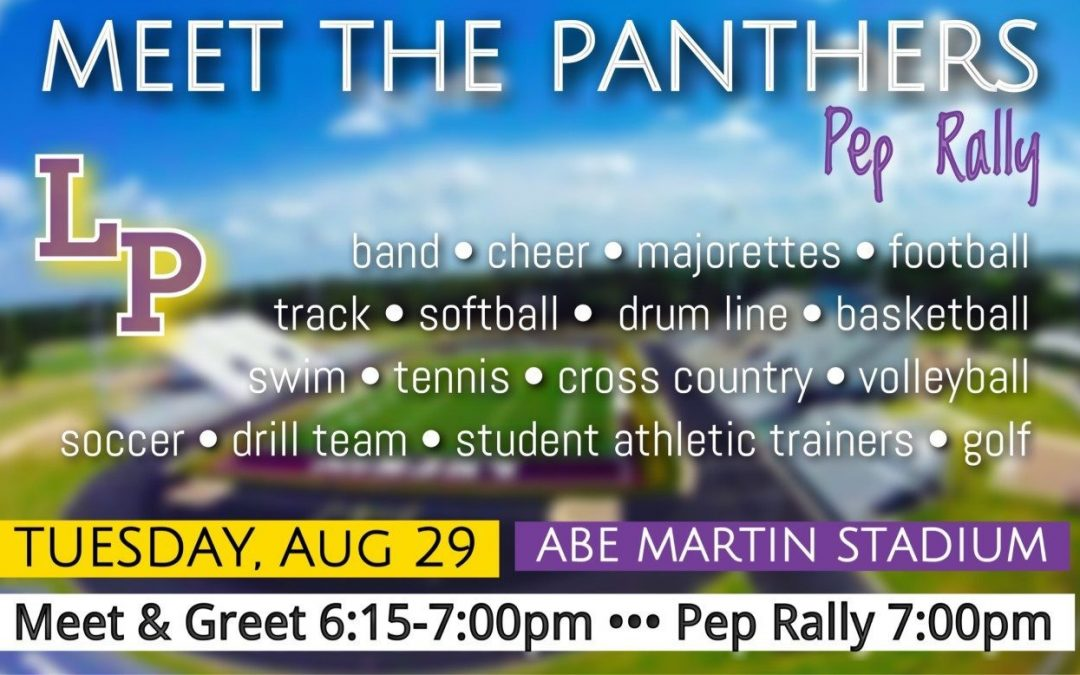 Mark your calendars for Tuesday night for Meet the Panthers!