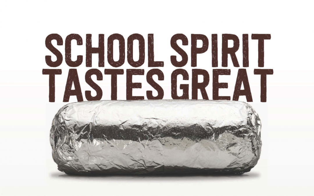 School Spirit Tastes Great