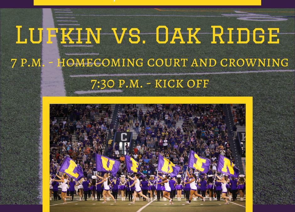 Lufkin vs. Oak Ridge