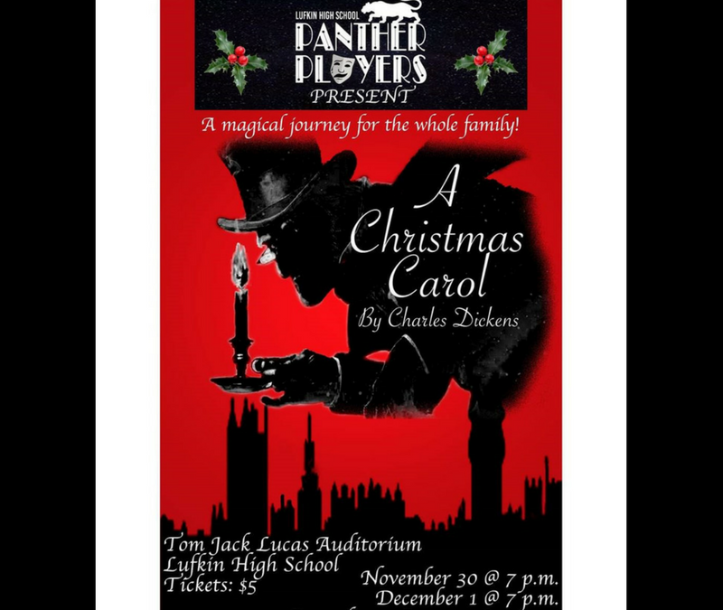 Join the LHS Panther Players for a magical journey for the whole family…
