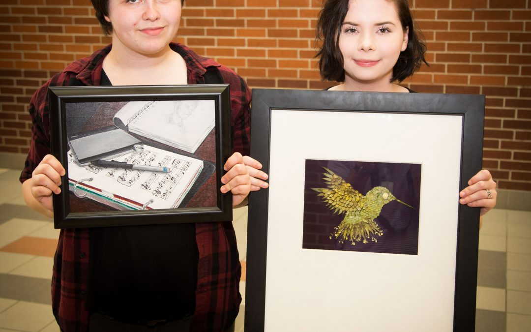 Lufkin High School art students' pieces selected for congressional contest