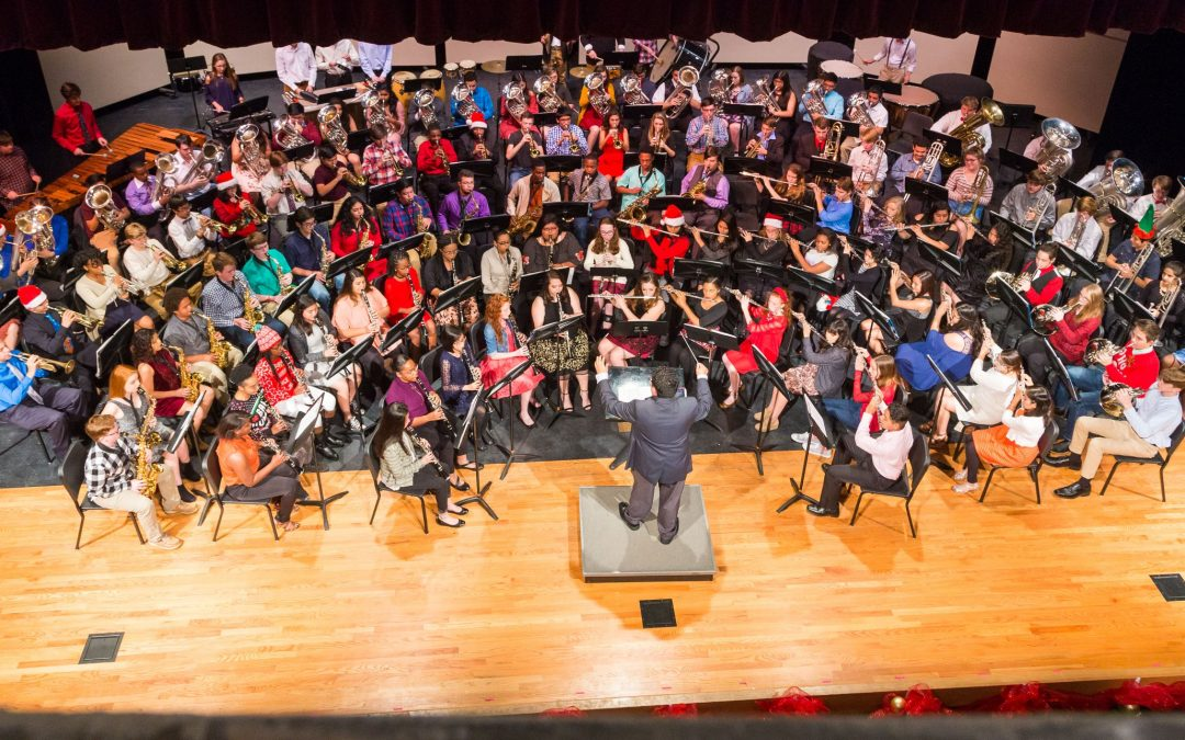 LHS Band presented its annual Christmas Concert