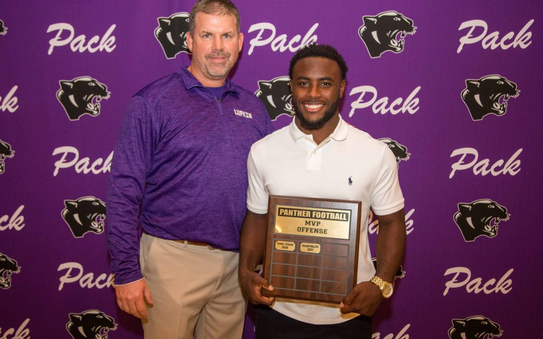 Pack football players earn awards at team's annual banquet
