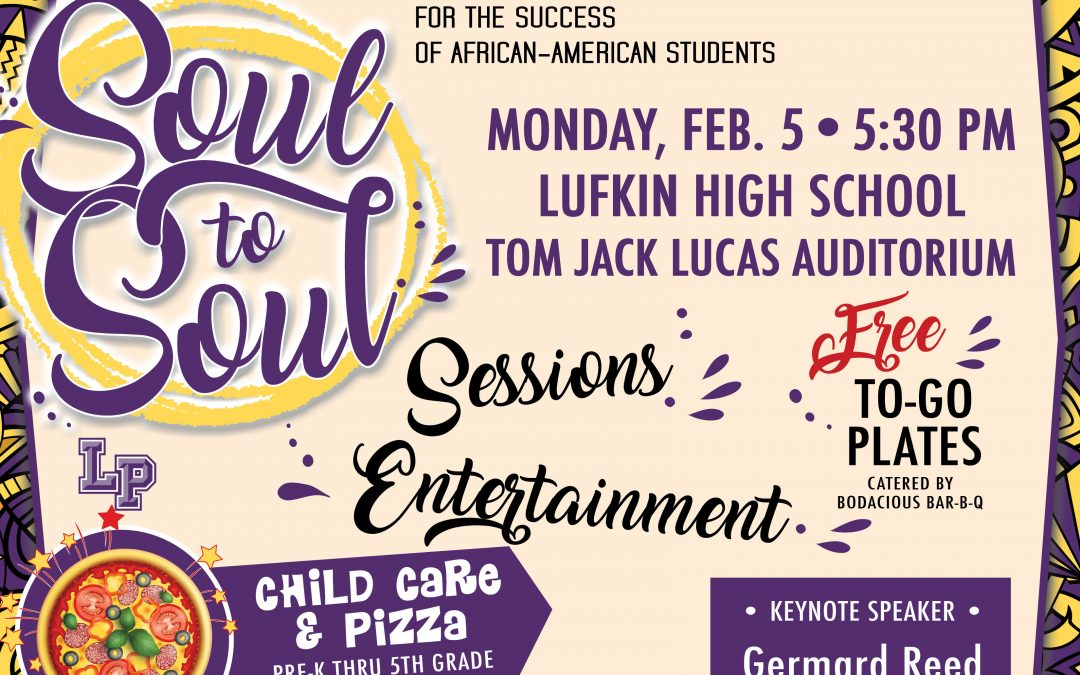 Join us for this year's Soul to Soul event