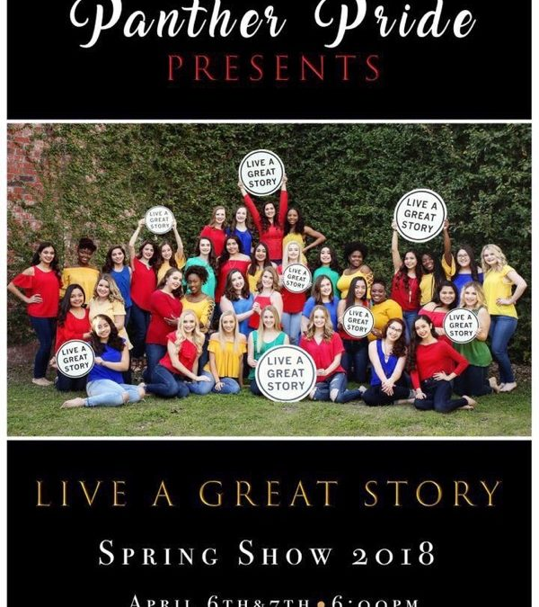 """Panther Pride presents, """"Live a Great Story"""""""