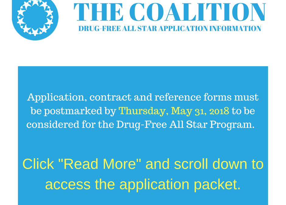 Students – Access the Drug-Free All Star Application Here
