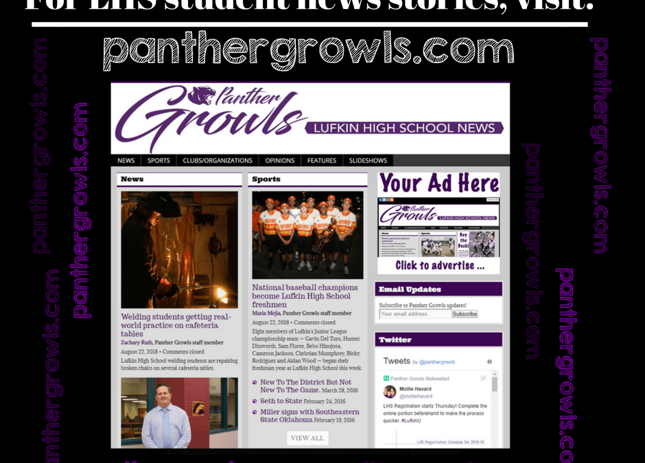 Check out our student published, Panther Growls