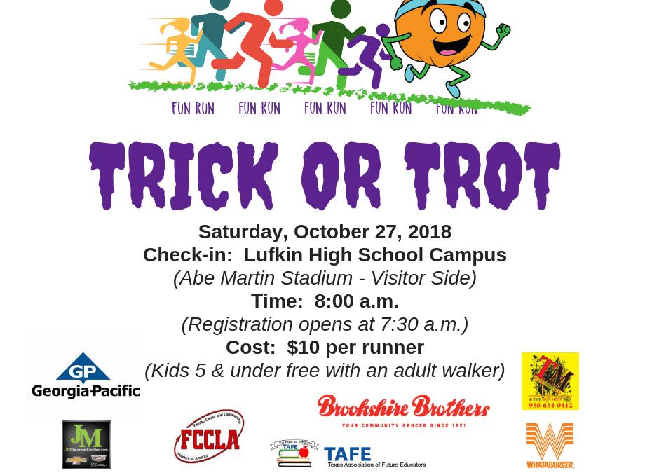 Trick or Trot – Fun Run