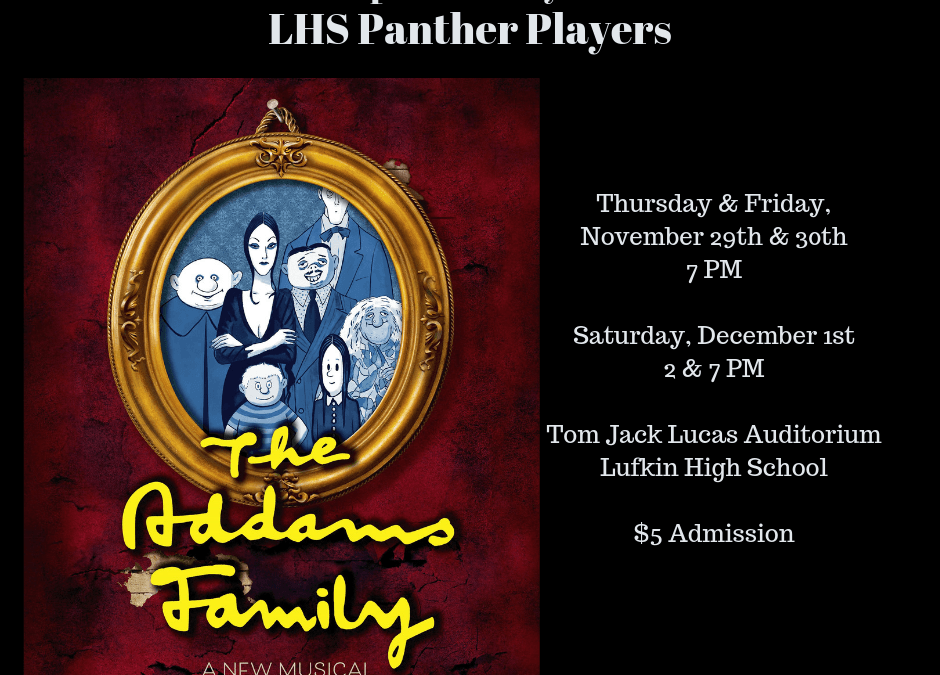 A musical comedy, presented by the Panther Players