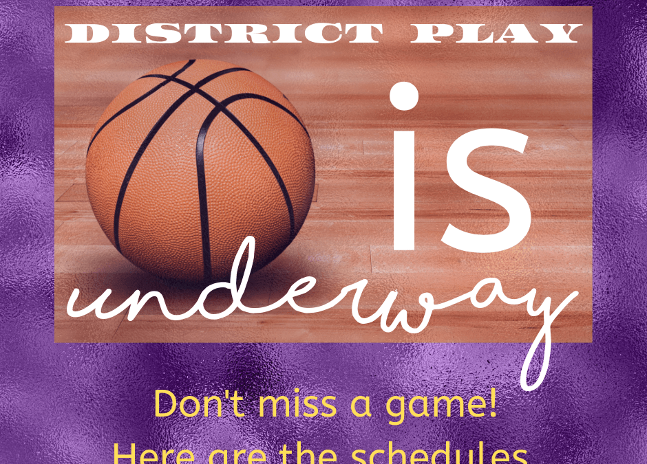 Basketball District Play
