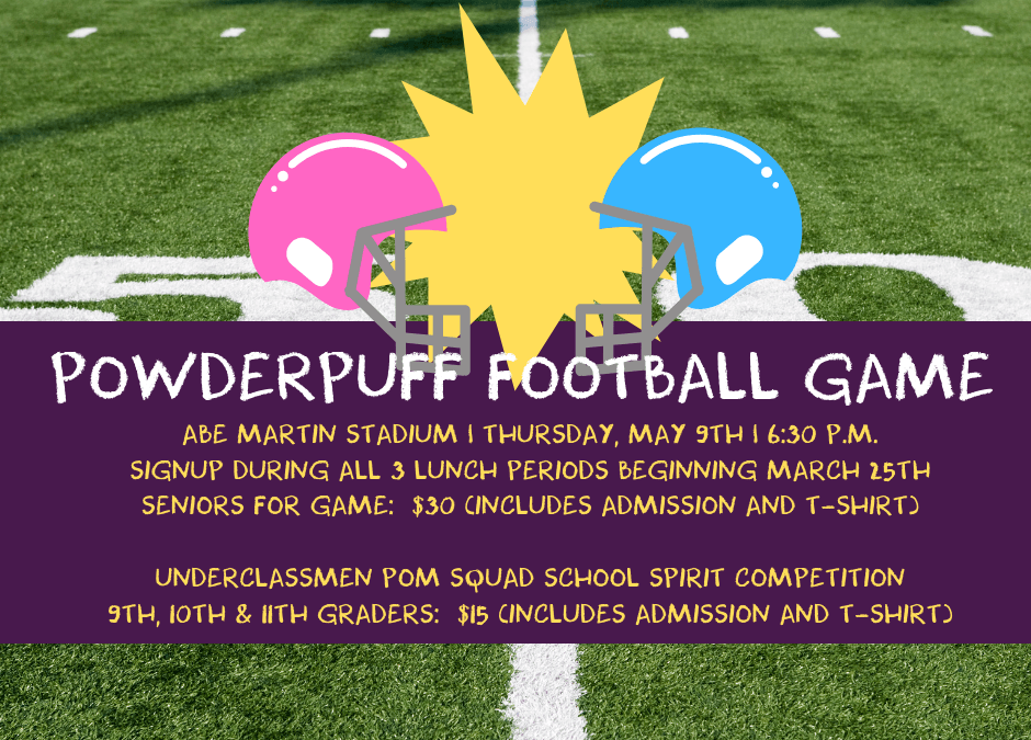 Are you ready for some POWDERPUFF football?