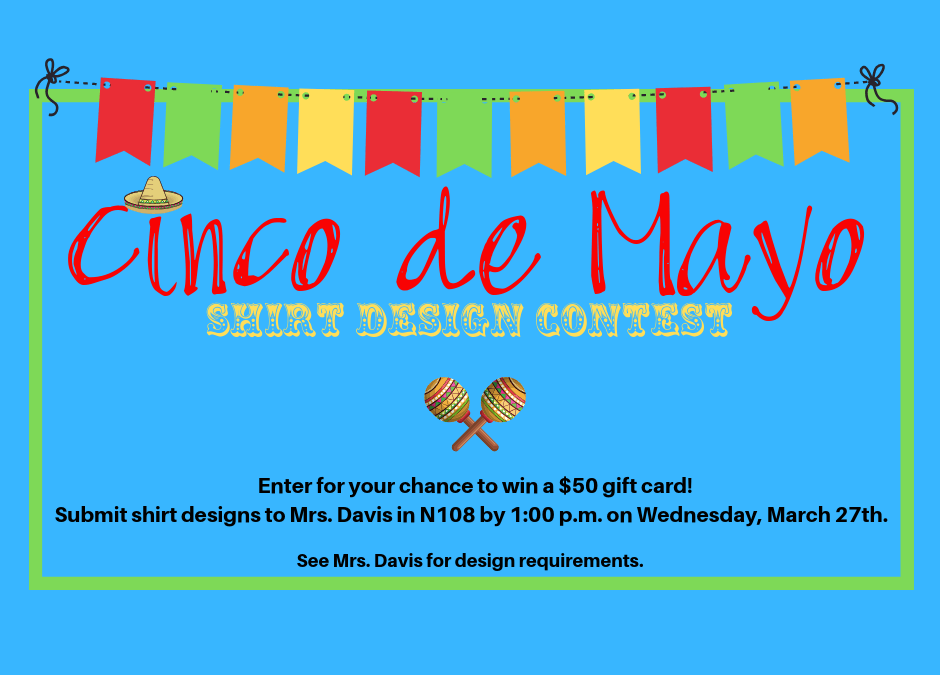 Submit your Cinco de Mayo shirt design for a chance to win!