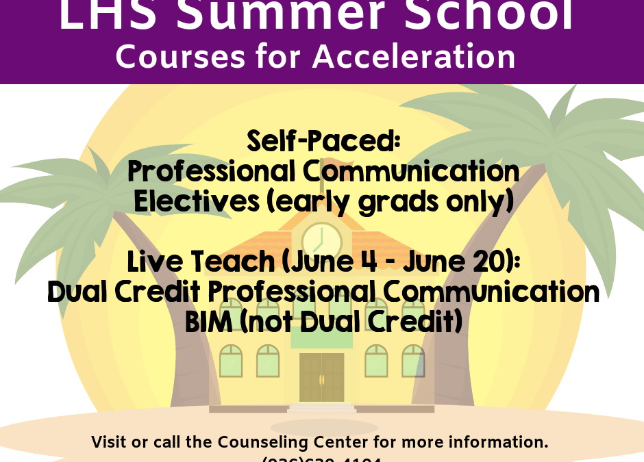 Summer School Acceleration Courses