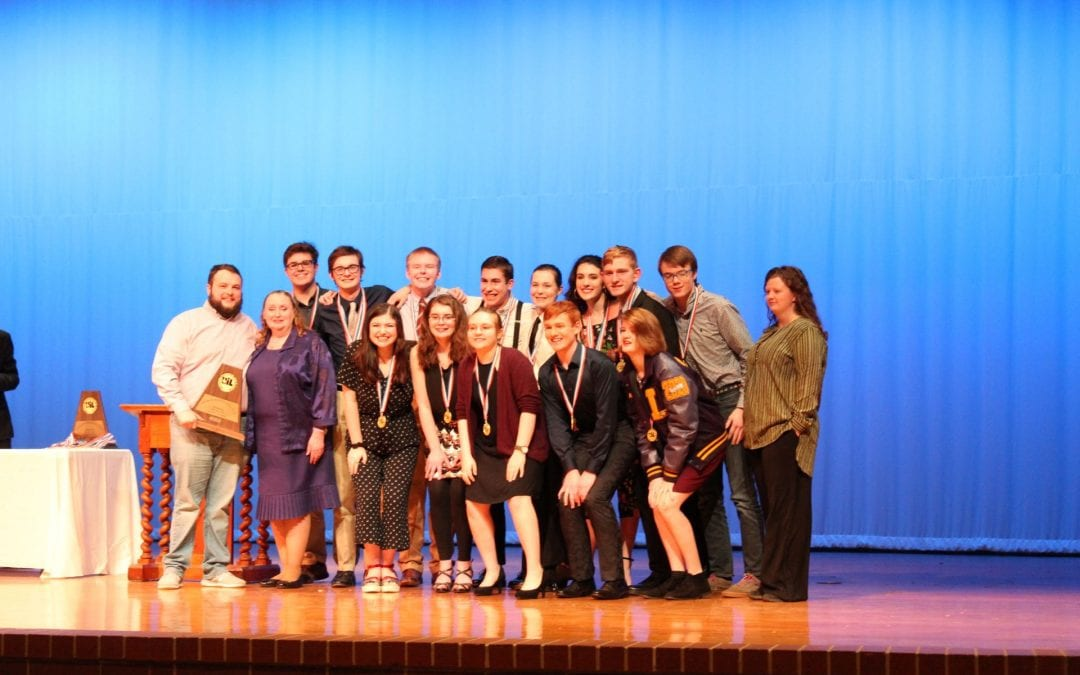 One Act Play advancing to bi-district