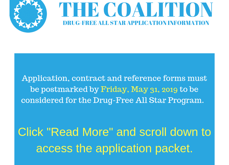 Drug Free All Star Applications