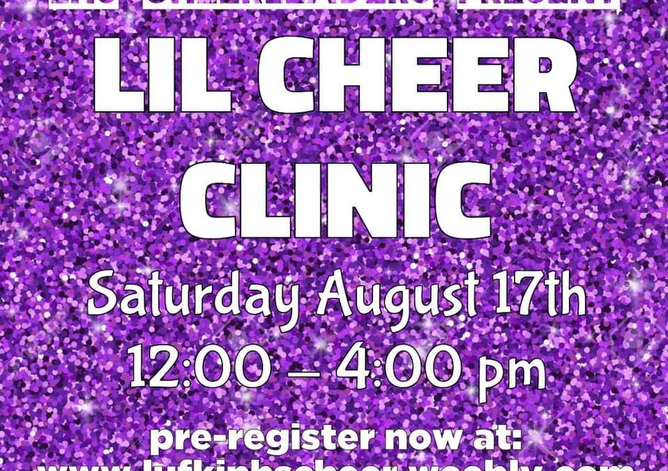 Little Cheer – Saturday, August 17th