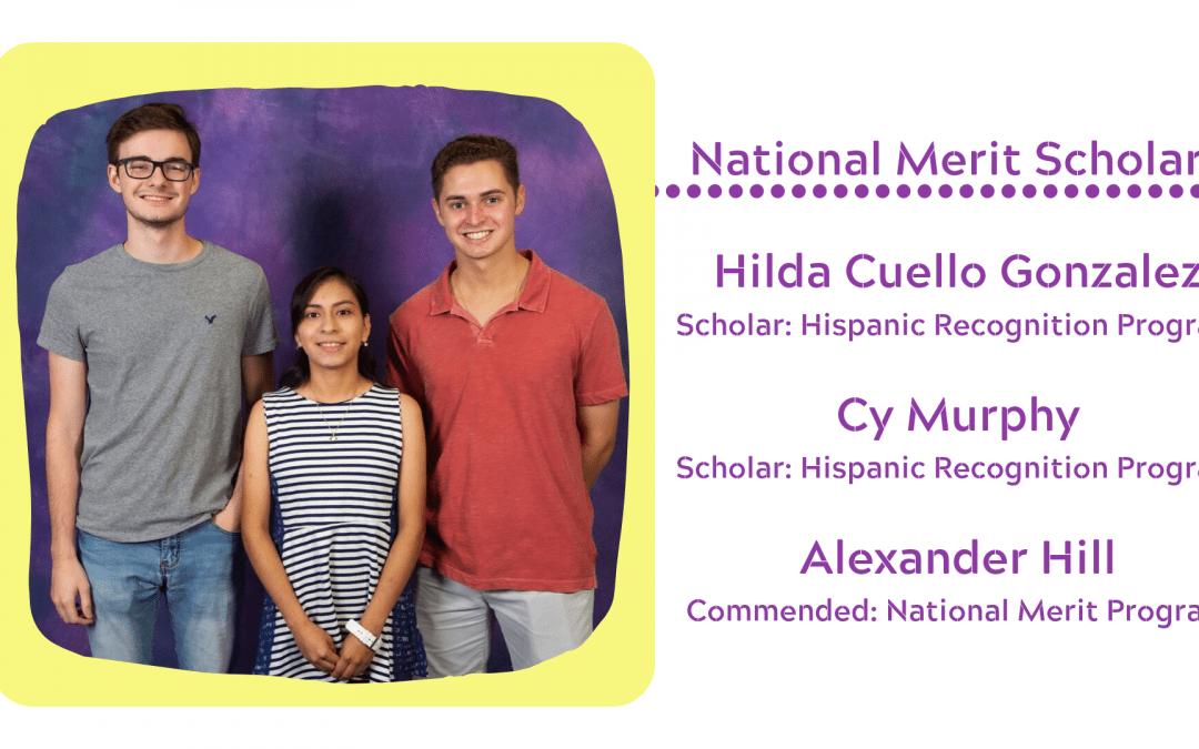 Lufkin HS celebrates National Merit Scholars