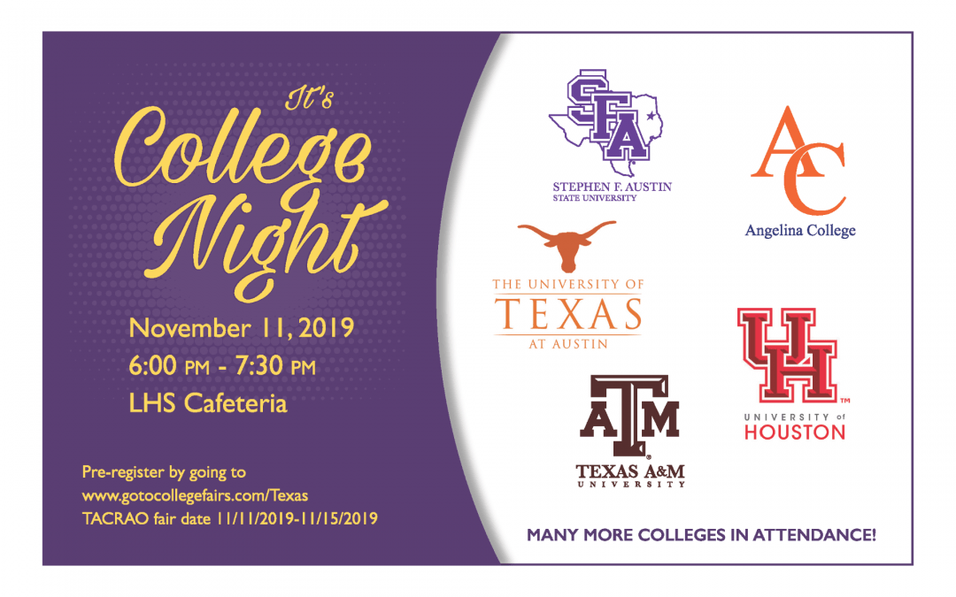 Join us for College Night
