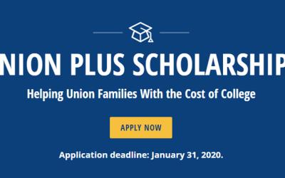 The Union Plus Scholarship Program