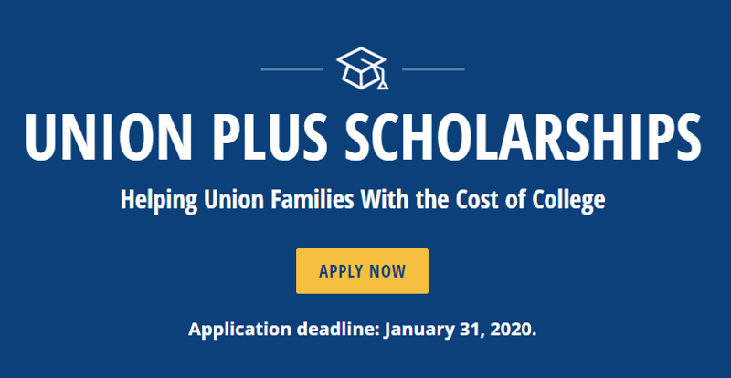 Union Plus Benefits >> The Union Plus Scholarship Program Lufkin High School