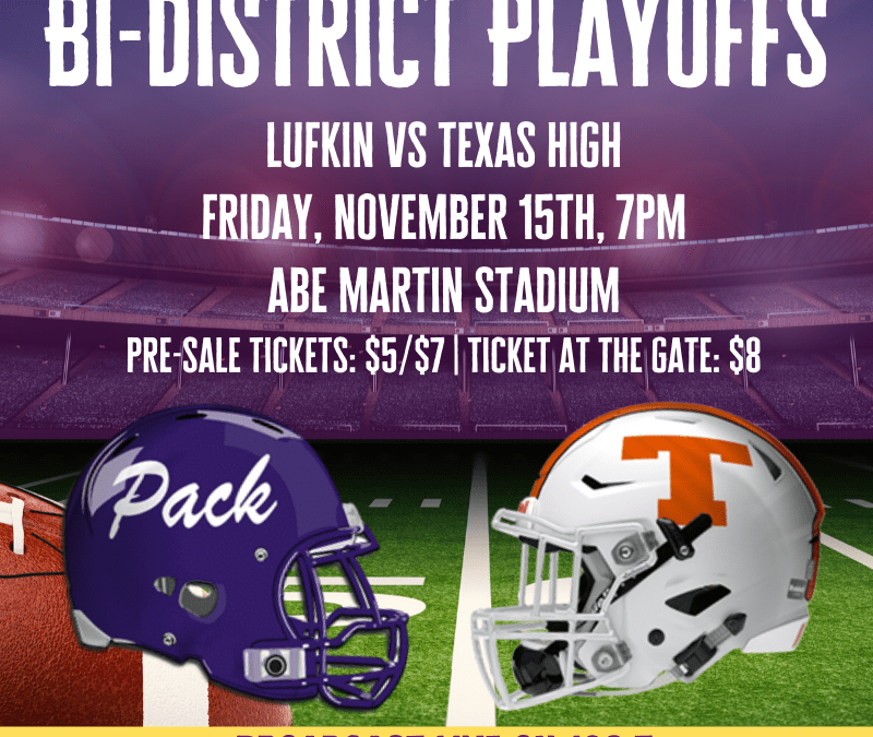 Bi-district Playoffs – Let's go, Pack!