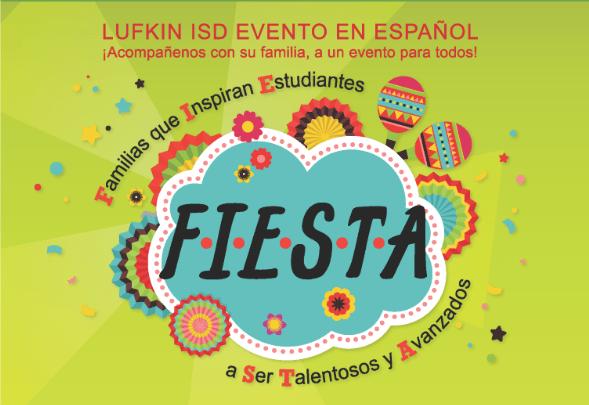 Lufkin ISD Evento en Español