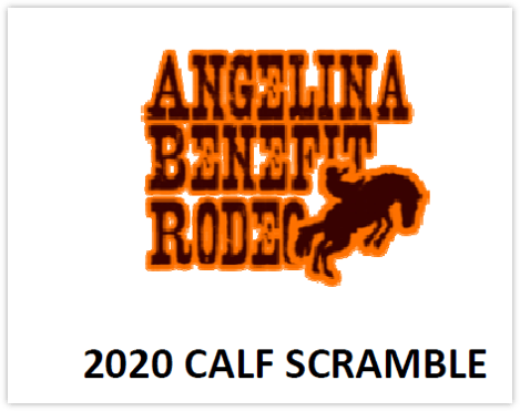 Angelina Benefit Rodeo Calf Scramble