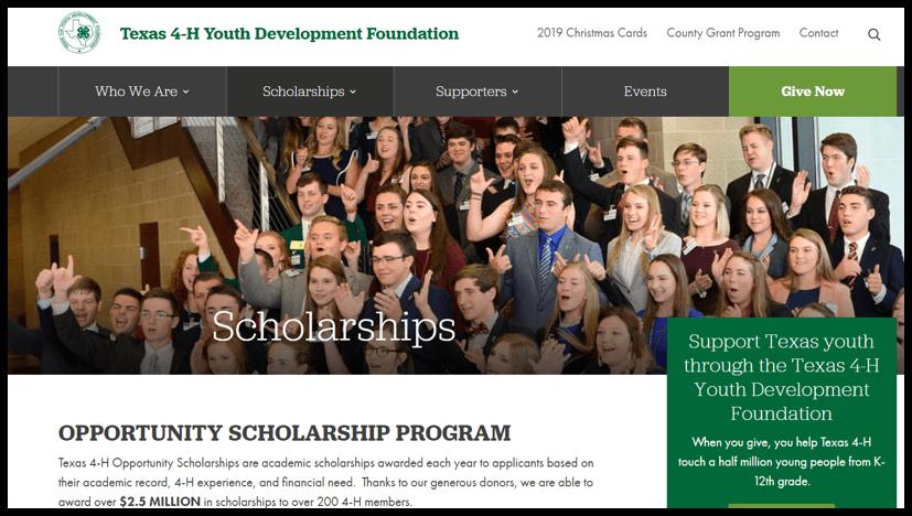 Texas 4-H Youth Development Foundation