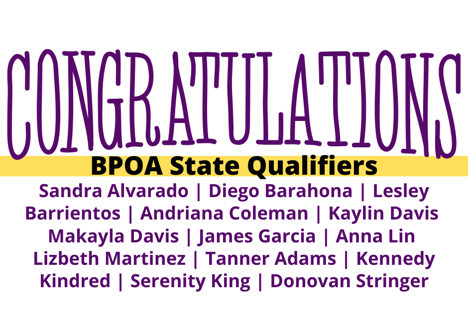 BPOA Successfully Qualifies for State Competition
