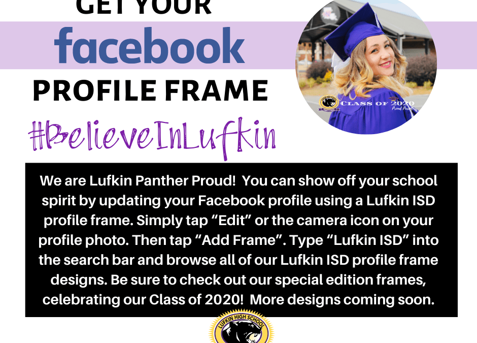 Show Your Spirit with a Facebook Frame
