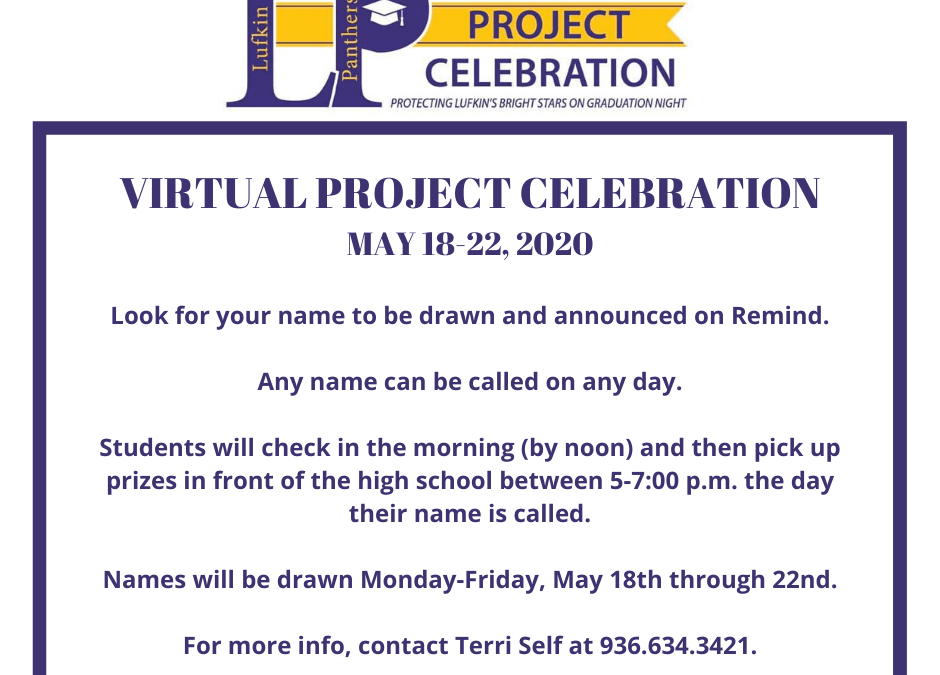 Virtual Project Celebration