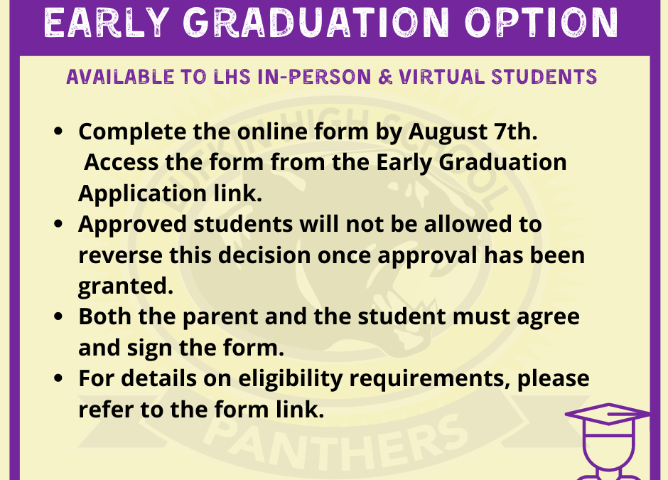 Early Grad Option Available