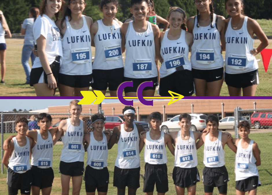 Lufkin High School CC Teams in Action at Hallsville Invitational