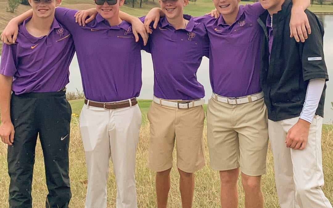 Golf squad takes win in Ferris tournament